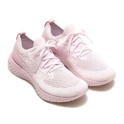 4a73c99990f4 Nike Wmns Epic React Flyknit Pearl Pink Aq0070-600 Us Womens Size 5-9