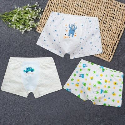 Baby Boys Girls Underwear Boxer Cotton Cartoon Children Panties Kids Underwear