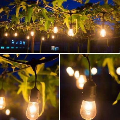 Incroyable Commercial Outdoor Waterproof Grade Patio Globe String Lights Bulbs 48FT Hot
