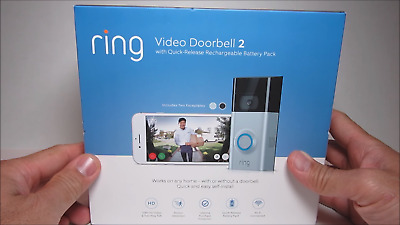 Ring Video Doorbell 2 Newest Version 1080 HD Wifi Factory Sealed