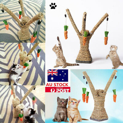 Pet Cat Tree Furniture Pet Post House Tower Play Toy Scratch Scratching Post Toy