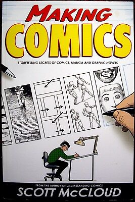 """Excellent Book, """"Making Comics"""" By Scott McCloud In Ex Condition"""