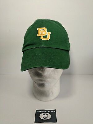 f83f9aba81992 Nike Baylor Hat Green baseball Cap Baylor University Big 12 NCAA embroidered
