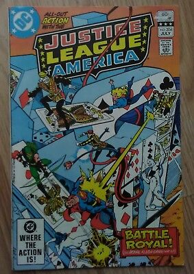 Justice League of America #204 (1982) Superman Wonder Woman VF Combined Postage