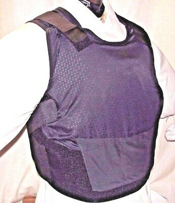 Female Full Medium IIIA BulletProof Concealable Body Armor Vest with Inserts