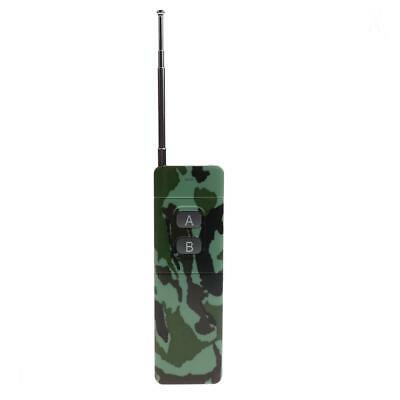 Two Buttons Garage Door Opener Curtain LED Light Remote Control Camouflage