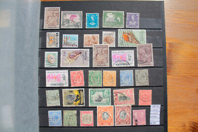 Lot Stamps Old British Colonies Used (F108722)