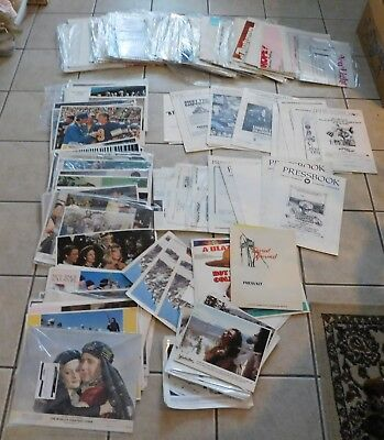 Wholesale Lot of Vintage Movie Theater Memorabilia Posters Lobby Cards  100+ Pcs