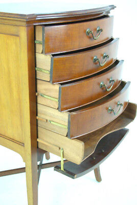Sheet Music Cabinet, Music Storage, Mahogany Cabinet, Antique Furniture, B972