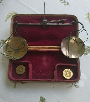 Set Of 19th Century Royal Mint Sovereign Scales