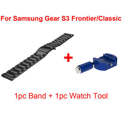Stainless Steel Wrist Watch Band Strap Bracelet For Samsung Gear S3 / Frontier