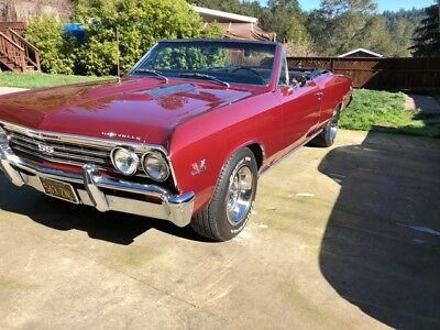 1967 Chevrolet Chevelle SS, #s matching 396. CA car, very, very clean. Must see 1967 chevelle convertible SS 396 big block