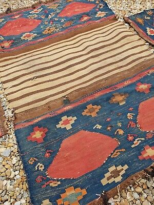 antique Persian handmade Mafrash very old Beautiful home decor rugs kilims
