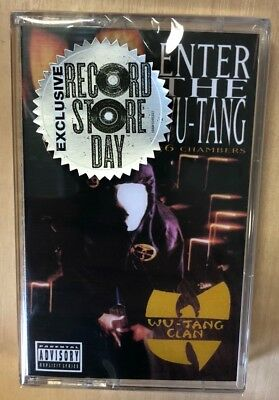 Wu-Tang Clan - Enter the Wu Tang(36 Chambers) RSD 2018 Cassette MC NEW!!!!