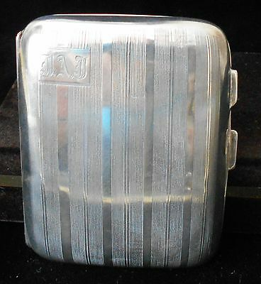 Antique Birks Sterling Silver Cigarette Case