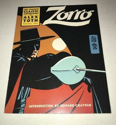 Zorro The Complete Classic Adventures by Alex Toth Vol 1 Image Comics 1st Print