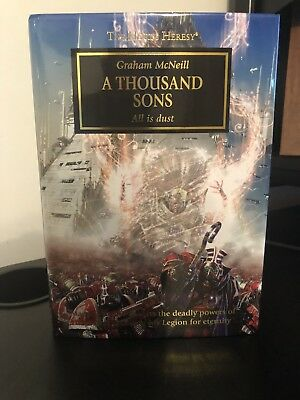 Horus Heresy Book 13 - A Thousand Sons - Graham McNeill Oop Hardback