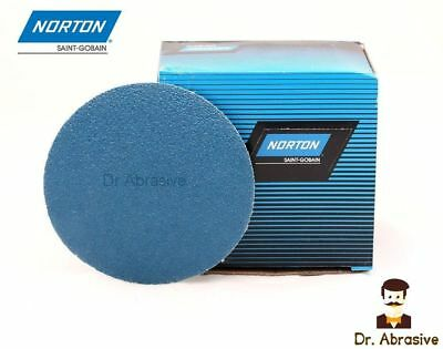 150mm Sanding Discs NORTON Zirconia 6 inch Floor Sandpaper Pads Self-sharpening