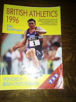 British Athletics 1996 compiled by the Union of Track Statisticians