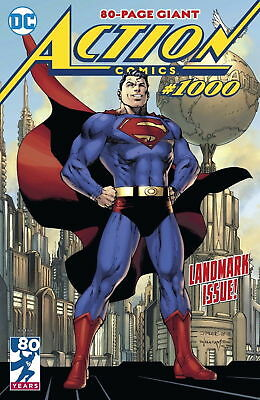 ACTION COMICS #1000 SUPERMAN  JIM LEE REGULAR COVER A 1st PRINT