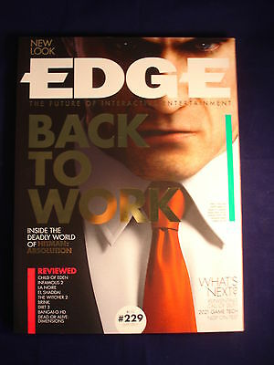 Edge Magazine issue - 229 - July 2011 - Hitman : Absolution
