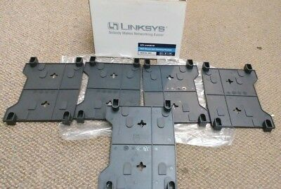 Lot Of 5   New Linksys  Sm01  Wall Mount And Stacking Brackets