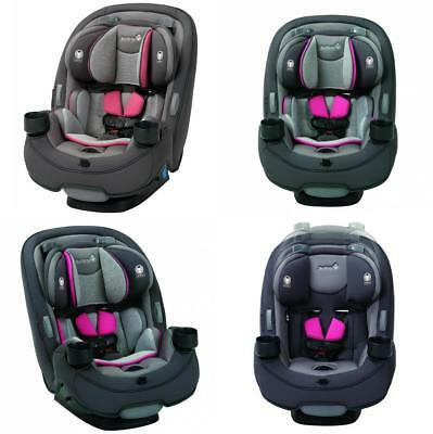 Safety 1st Grow And Go 3 In 1 Convertible Car Seat Everest Pink