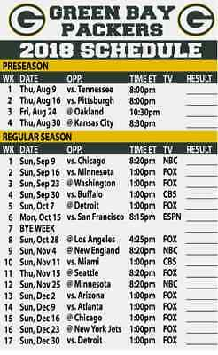 Selective image regarding green bay packers printable schedule