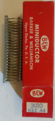 B&W Miniductor 3010 vintage air core inductor 2.08 microhenrys