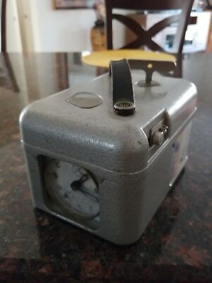STB Metal Cased Racing Pigeon Time Clock Very Good Condition