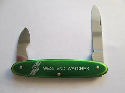 Vintage West End Watches Wenger Watch Case Knife-Swiss Made-RARE--Excellent!!