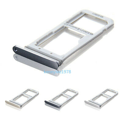 Micro SD Card + SIM Card Slot Tray Holder For Samsung Galaxy S7 G930 G930F New