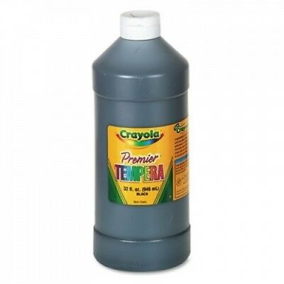 Premier Tempera Paint, Black, 950ml, Sold as 1 Each. Crayola. Shipping is Free