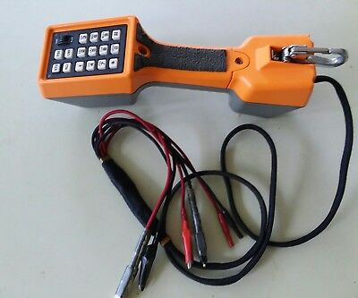 Harris Fluke Ts22Al 2 Way Speakerphone Dsl Lockout Butt Set W Co Test Cord