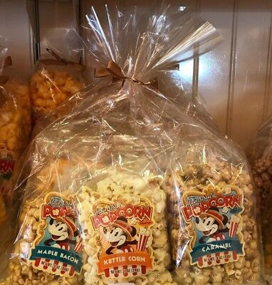 Disney Parks Main Street Flavored Popcorn Variety Pack Set of 6 New and Sealed