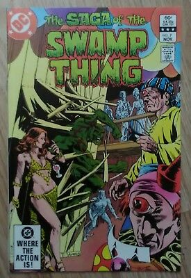 Swamp Thing Vol 2 #7 (1982) Barr Yeats Pasko VF+ Combined Postage Available