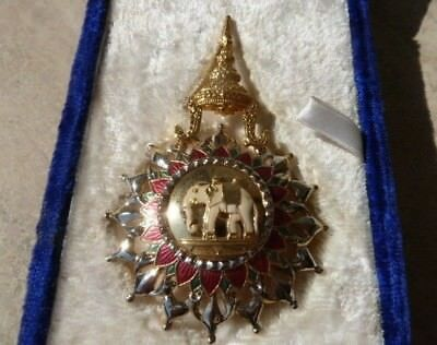 Thailand, Medal, Commander Most Exalted Order Of White Elephant Decoration !