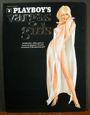 Playboy's Soft Cover Alberto Vargas Girls 1973 Delineator of the American Girl