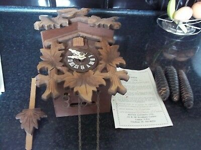 Vintage Black forest style German cuckoo clock