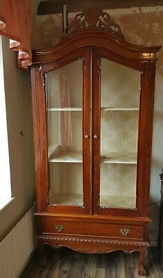 french armoire cupboard / wardrobe  shabby chic. Upcycle project