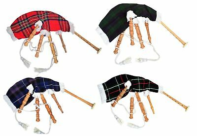 Kids Toy Bagpipe/Junior Playable Bagpipes/Child Bagpipe Various Tartans