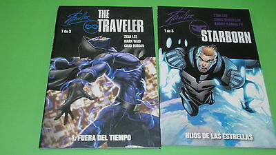 Two comics created por Stan Lee STARBORN and THE TRAVELLER