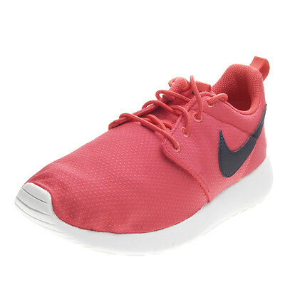 Nike Roshe One GS DA DONNA TG UK 5.5 EUR 38.5 Rosa Bianco 599729 611