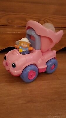 Little People FISHER PRICE - Le camion benne rose
