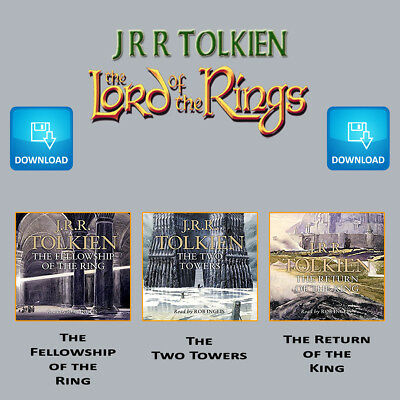 The Lord of the Rings Trilogy - Audio Books - mp3 Digital Download Media