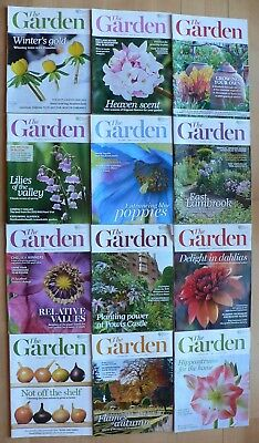 12 Issues 2014 Rhs Royal Horticultural Society The Garden Magazine