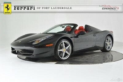 Ferrari 458 Spider Carbon Fiber Racing Package Seats LED Camera 20 Forged Electric Dual Color