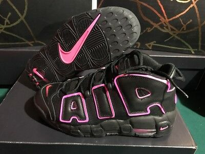Nike Air More Uptempo GS Pippen Youth Size 7Y Black Pink Blast 415082-003  New