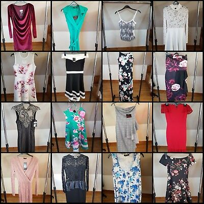 Job Lot of 50 Women's Clothes Fashion Dresses Tops Formal Evening brand new