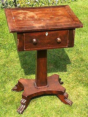 Small hall/telephone table believed to be Victorian requires some restoration